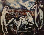 Laocoon, El Greco