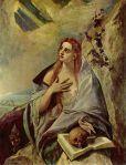 Penitent Mary Magdalene, El Greco