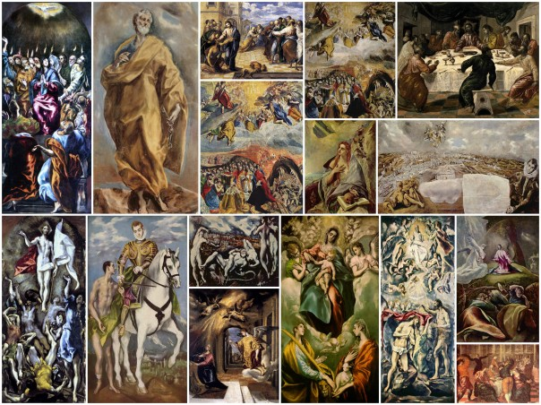 El Greco, Collage
