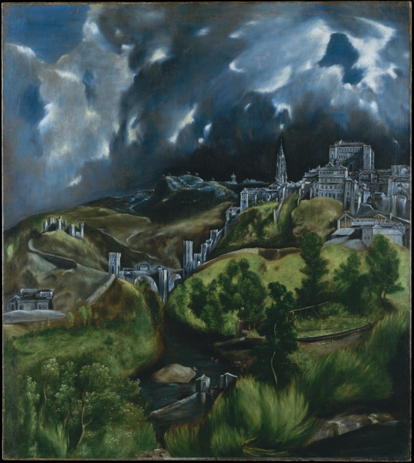 View of Toledo — El Greco (1541-1614)