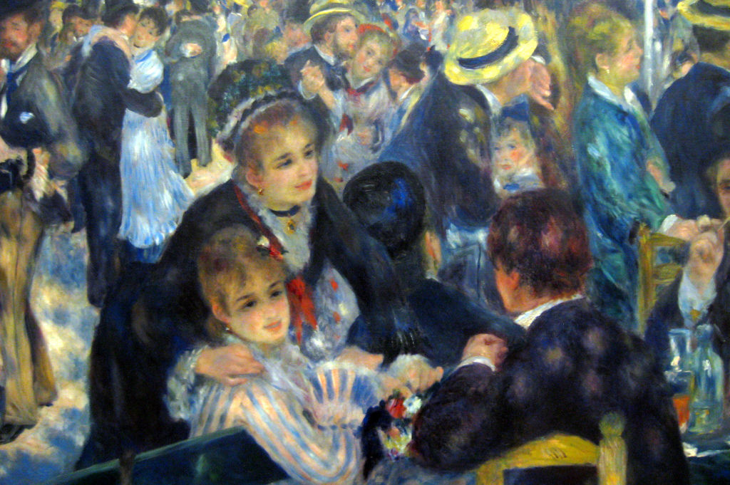 Bal du moulin de la galette french painters art poetry for Auguste renoir paris